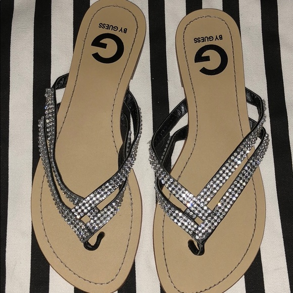 G by Guess Shoes - G by guess rhinestone sandals